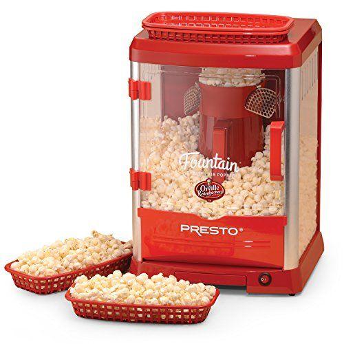 Presto Orville Redenbacher's Fountain Theater Popcorn Popper