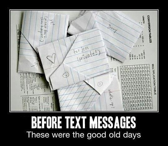 I kind of miss these.Hands Written, Old Schools, Middle Schools, Remember This, Old Day, Texts Messages, Text Messages, Memories, High Schools