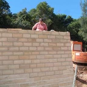Build It Back Green: Green Building Guide - Building Materials - Timbercrete