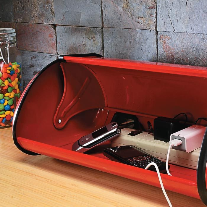 Bread Box Charging Station | My Home My Style eNotes