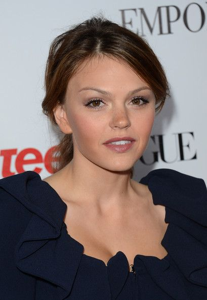 Aimee Teegarden arrives at Teen Vogue's 10th Anniversary young Hollywood party on September 27, 2012 in Beverly Hills, California. - Teen Vogue's 10th Anniversary Annual Young Hollywood Party - Arrivals