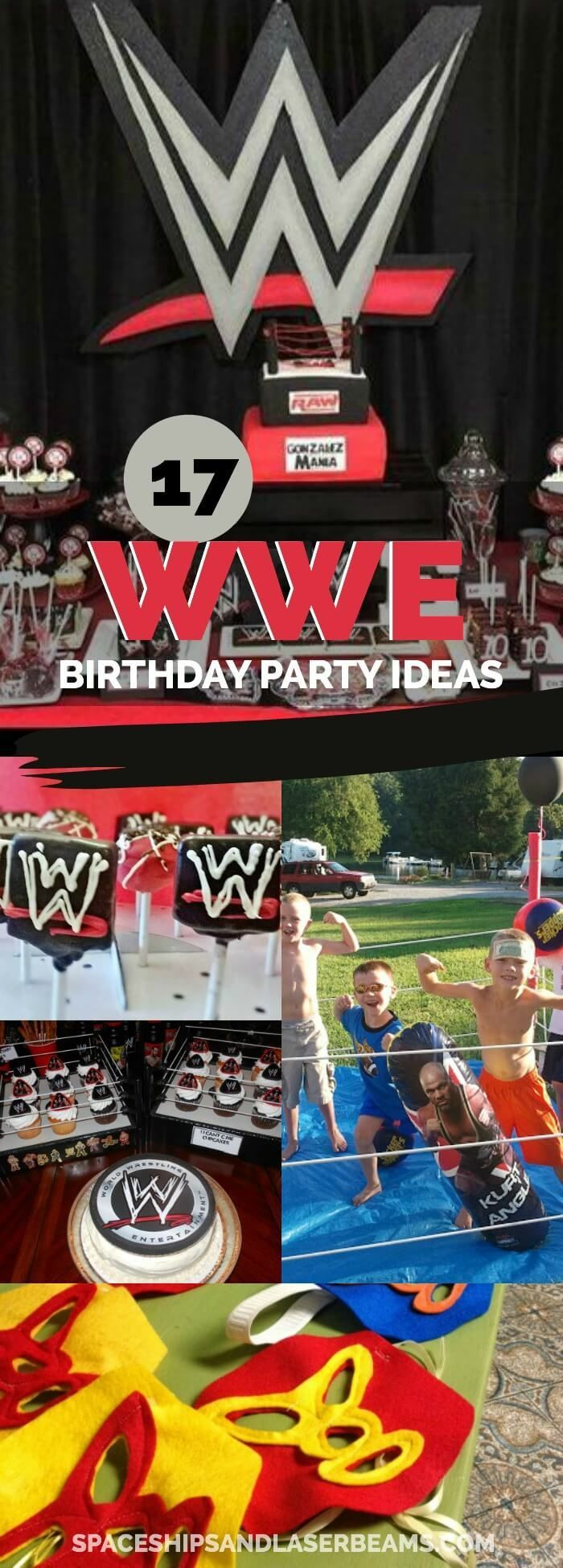17 Wild WWE Party Ideas via /spaceshipslb/