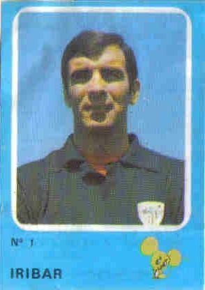 Iríbar. 1974-75. Athletic Club de Bilbao. Cruyff y los colosos de la liga. Cropan.