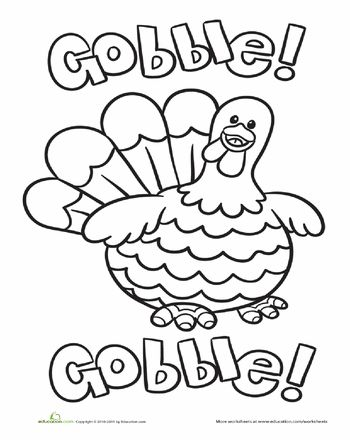 1000 Ideas About Thanksgiving Coloring Pages On Pinterest Thanksgiving Coloring Pages For Kindergarten
