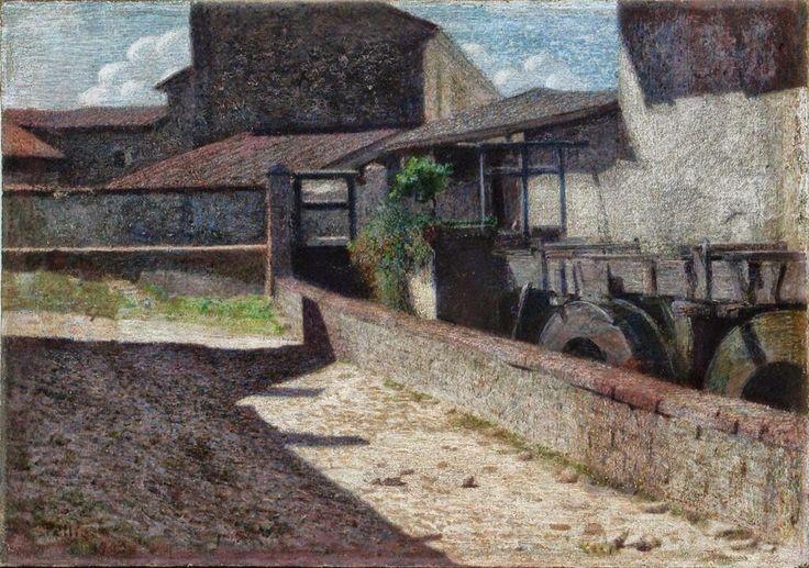 Angelo Morbelli(1853-1919 Italian painter)