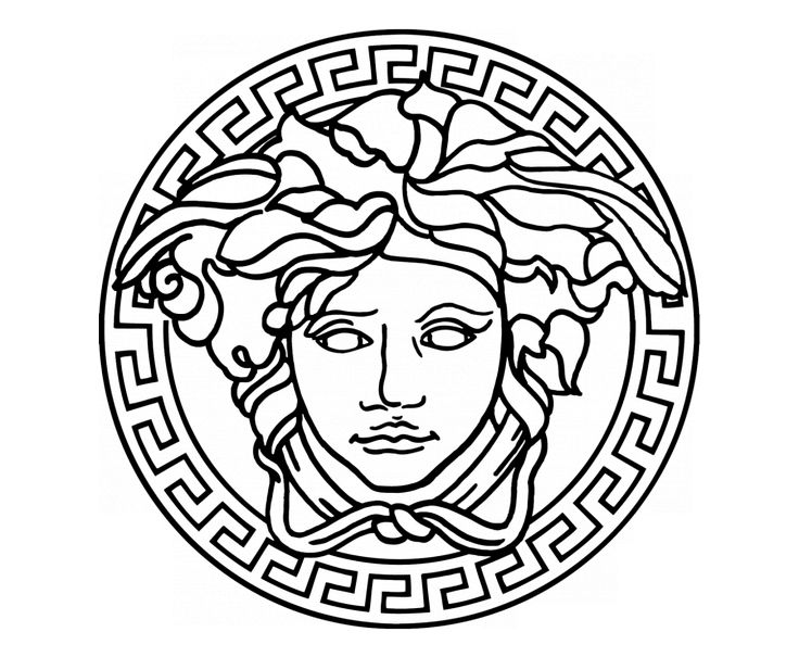 Image result for versace logo