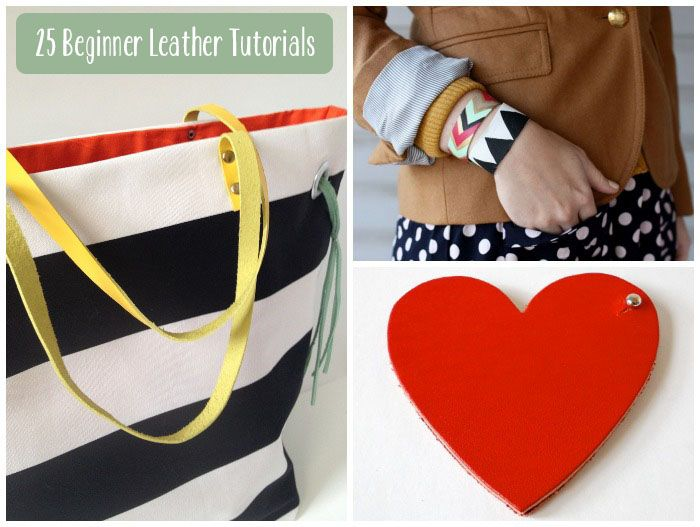 25 Beginner Leather Tutorials