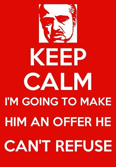 All About Make Me An Offer I Cant Refuse Streetsmart Gangster Www