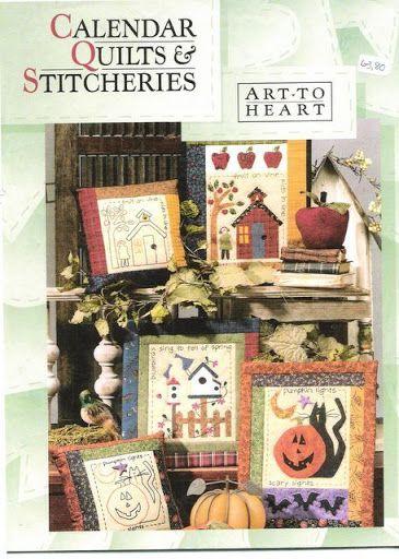 Art to Heart - Calendar Quilta And Stitcheries - Petra Budag - Álbuns da web do Picasa