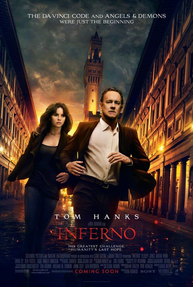 Inferno (2016) Film Poster