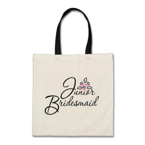 Junior Bridesmaid Bouquet Bags