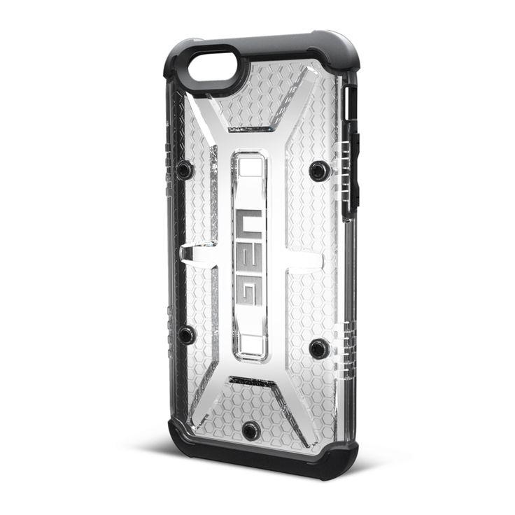 UAG iPhone 6 Composite Case - Maverick - Ice/Black   Mobile Madhouse #iPhone6 #Apple #iPhone #Clear #Black #UAG #MobileMadhouse