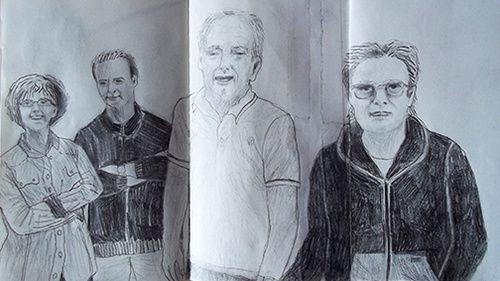 Chiara Criniti - Agosto 2016 Sketches