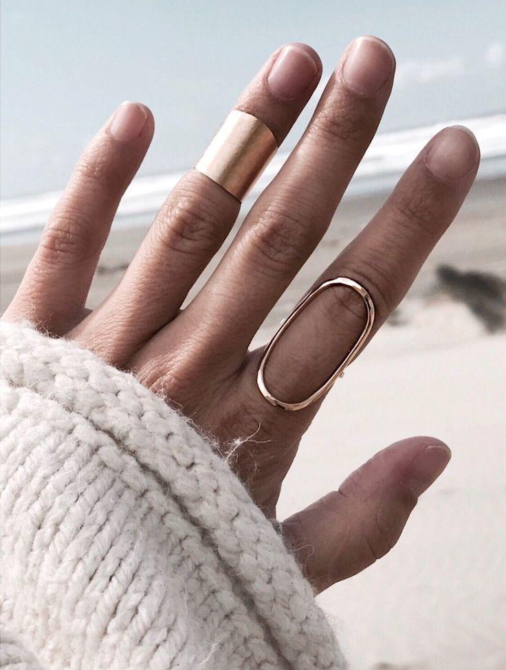 Midi Cuff Ring – Schmuck