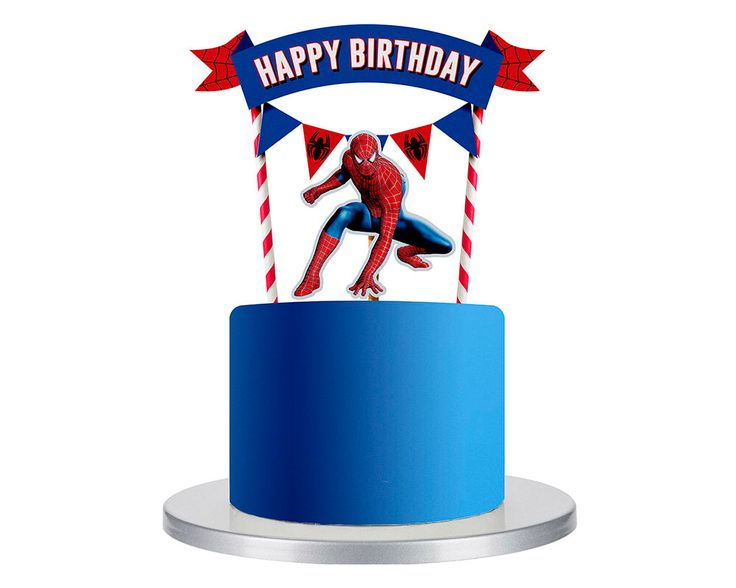 Spiderman cake topper, Spiderman birthday party, Spiderman birthday, Spiderman party, Spiderman party decor, Spiderman birthday decorations by soprettyincolor on Etsy https://www.etsy.com/uk/listing/506927681/spiderman-cake-topper-spiderman-birthday
