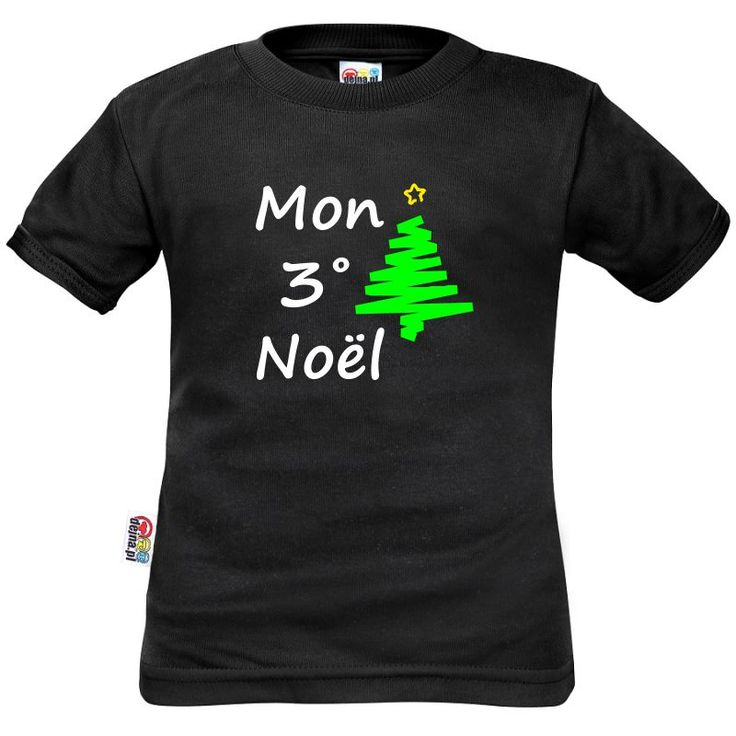 Tee shirt enfant à personnaliser : mon 1˚, 2˚, 3˚... Noël