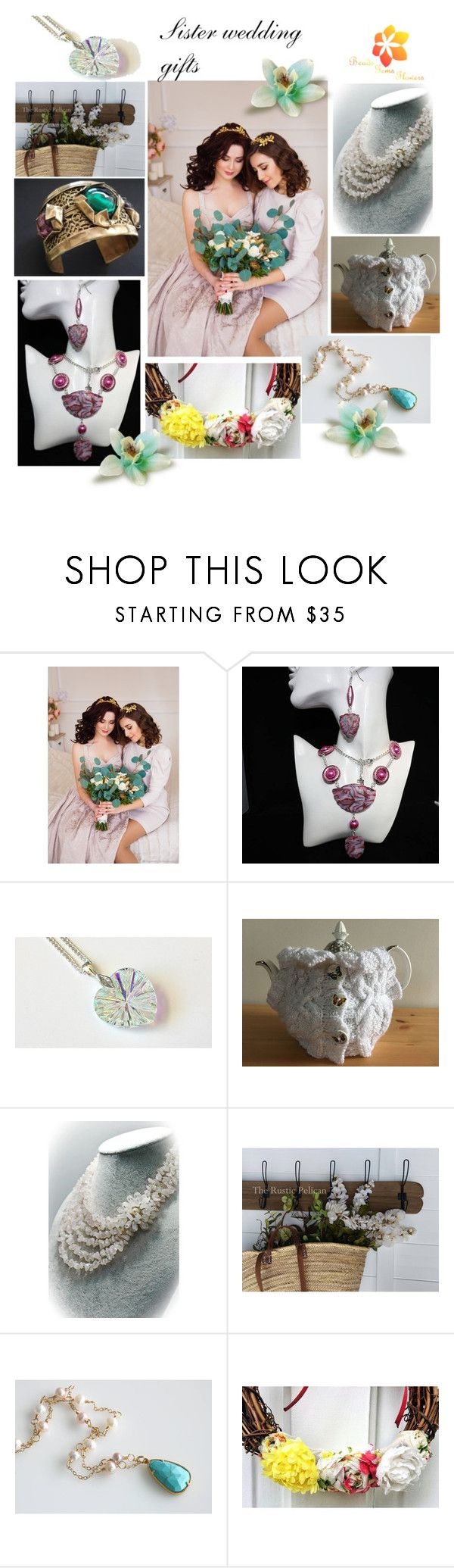 """Sister wedding gifts"" by varivodamar ❤ liked on Polyvore featuring modern"