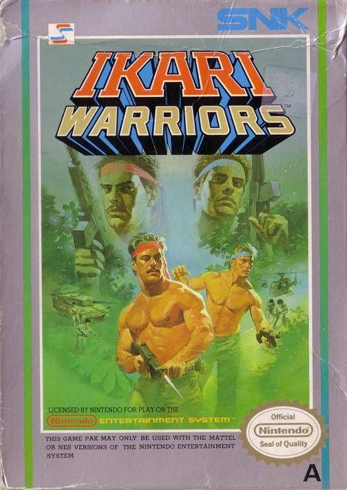 Ikari Warriors - SNK 1987 - anyone else remember when these guys were the pinnacle of manliness?
