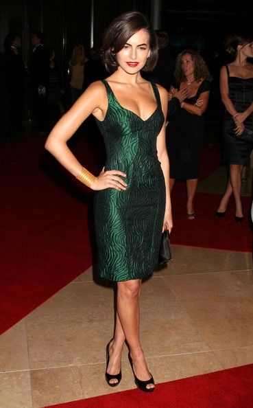 Camilla Belle Clothes emerald dress.