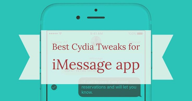 http://ift.tt/2oElXtm Cydia Tweaks for Message app (iMessage) that you should install right on your iPhone http://ift.tt/2o0A09u  You may be familiar with Messages or iMessage if you use iPhone iPad or iPod Touch. Users can use both SMS and iMessage platform on iPhones whereas the iPad and iPod Touch users can send a text using iMessages. iMessage basically uses an internet connection to send a message and sync it using a iCloud account.  Apple has been improving and adding features to…