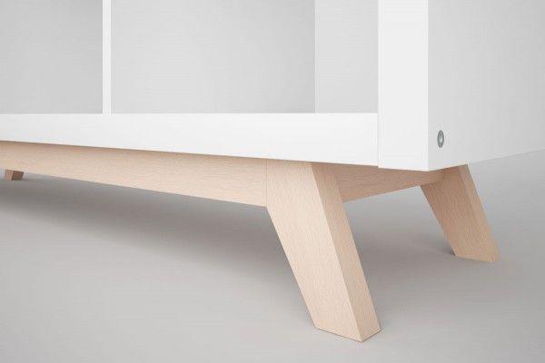 Ikea Füße Holz.Kallax Regal Untergestell Aus Holz Schräge Füße In 2019