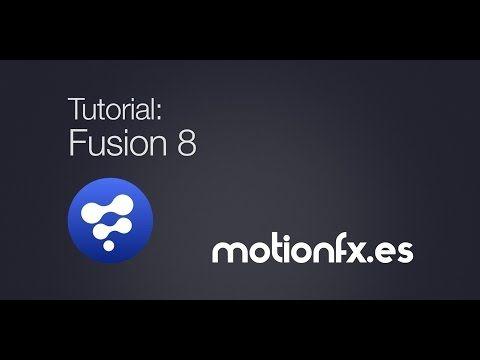 Tutorial presentación de Fusion 8 - YouTube