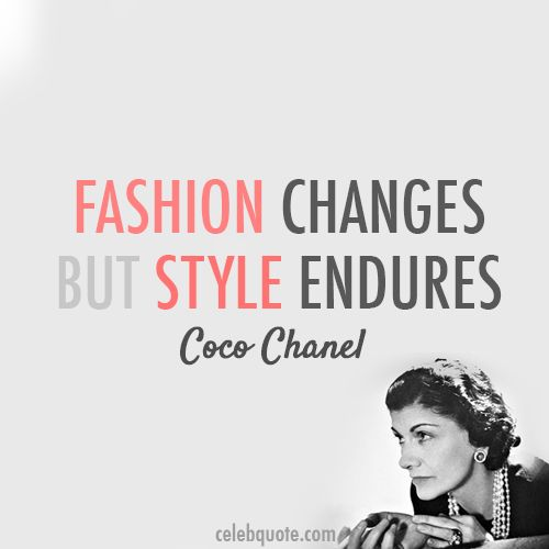 Coco Chanel Famous Quotes: French Focus: Secrets To Style Via History & High Heels