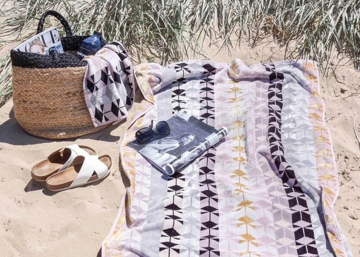 Beach day love with our Fidelis towels.