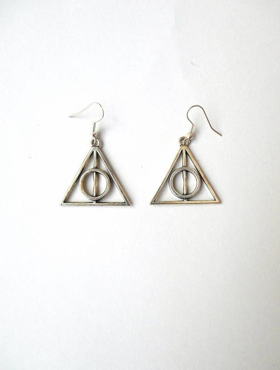 Witch earrings Wicca earrings Mystical jewelry Wiccan