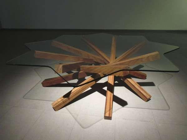 Fantastic Jagged Furniture - Bersun Erturk's LOCT Coffee Table is Dynamic and Minimalist (GALLERY)