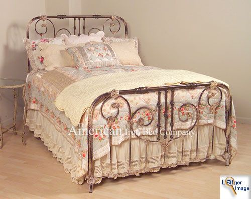 17 best ideas about antique iron beds on pinterest antique iron iron bed frames and wrought - Reasons choose wrought iron bed ...