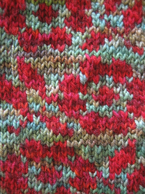 Rose Knitting Pattern : rose pattern Debbie Bliss s fair isle cardigan in Vogue ...