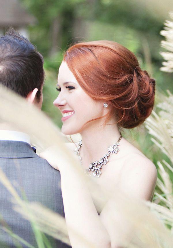 Long hair updo #wedding #hairstyles