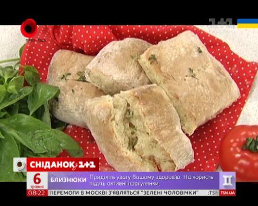 Відео - Італійській хліб чіабата від Руслана Сенічкіна