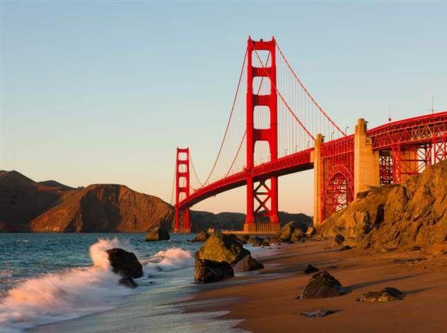 Goldan Gate-bron, San Francisco, USA. Foto: Shutterstock