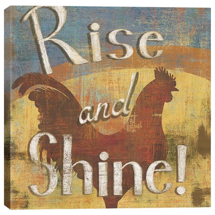 Rise & Shine by Daphne Brissonnet Wall Art