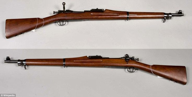 Big firepower: The M1903 Springfield added modern firepower to the U.S. Army. The .30-06 cartridge it fired is still in use by millions of hunter today