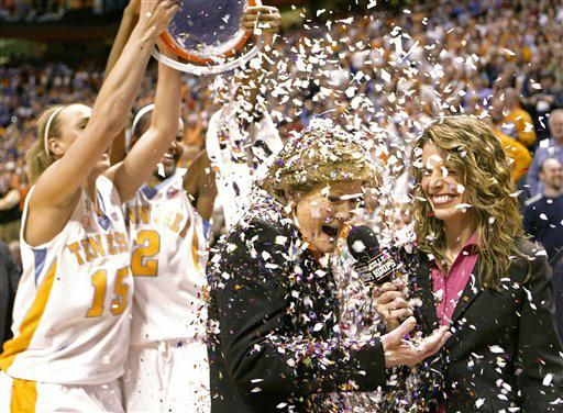 Pat Summitt, University of Tennessee women's basketball coach wins 1,000th game!
