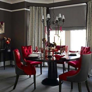 167 Best Red And White Decor Images On Pinterest  Antique Delectable Dining Room Chairs Red Decorating Design