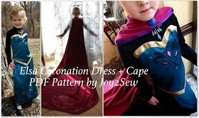 Joy 2 Sew: Elsa Coronation Dress Coming!!!