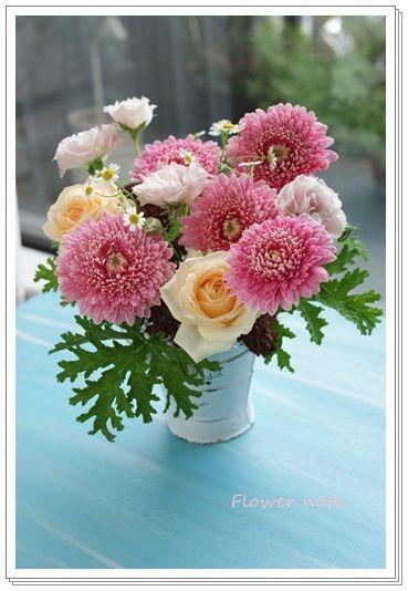 ■Flower noteのこと■ ■ フラワーギフトのご注文方法■ ■Flower noteの作品集■ ■「小さなお花の教室 」■ ■現在募集中のレッスン…