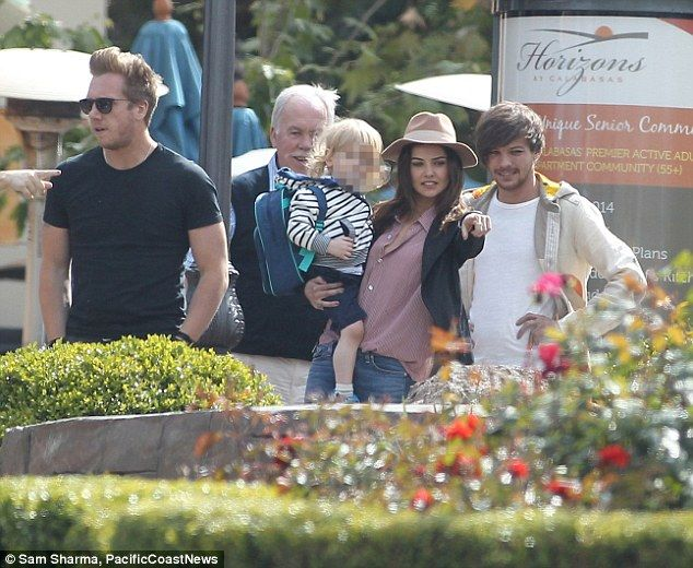 The chart-topper, 24, was seen with girlfriend Danielle Campbell and baby Freddie, plus mother Johannah Deakin, step-dad Dan, grandad and two half-siblings, Doris and Ernest