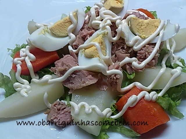 O Barriguinhas: Salada de Atum