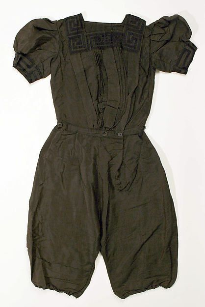 Bathing suit, ca. 1900
