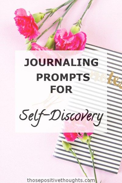 Journaling Prompts For Self-Reflection And Self-Discovery