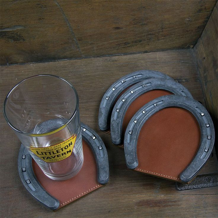 Horseshoe Coasters by Col. Littleton