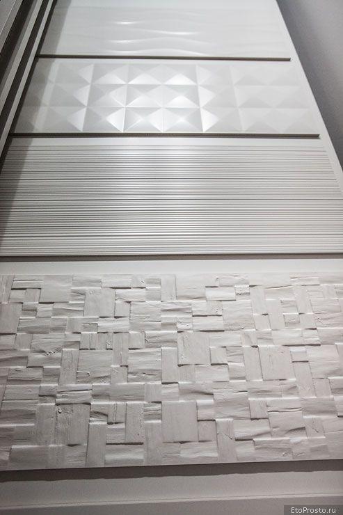 3D плитка - последние тенденции. Новинки объемной плитки. Часть 1