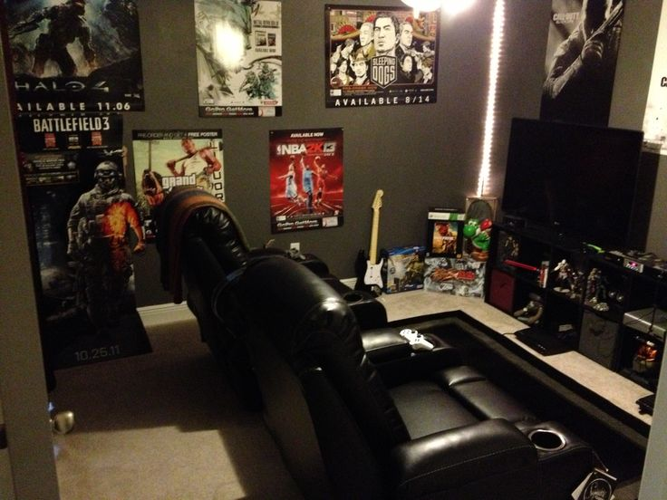 My Game Room #adornemyhome