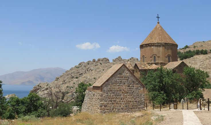 Akdamar Church Lake Van E Turkey