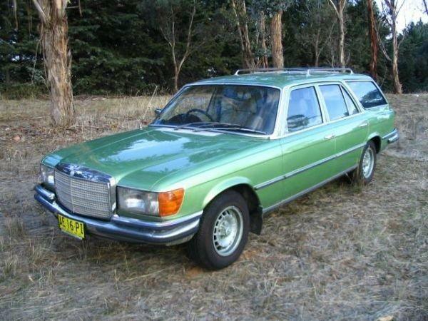 1975 mercedes benz w116 280se estate mercedes benz for Mercedes benz station wagon